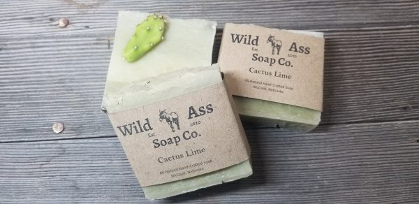 Cactus Lime Natural Soap